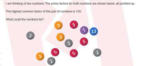 The prime factor mix-up in #MondayMaths