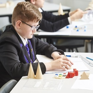 Applications are assessed by the Mathematics Mastery team