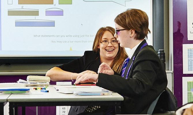 """The progress of our Year 10s has been astounding compared to previous year groups"""