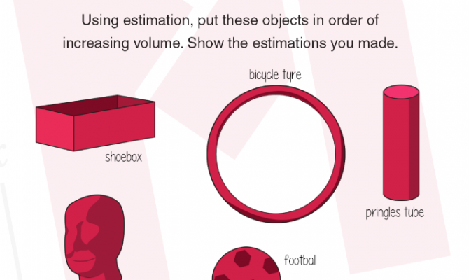 This week's #MondayMaths: volume estimation