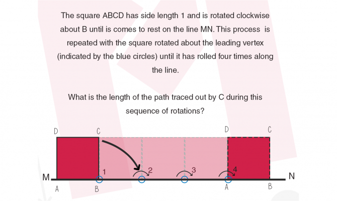 #MondayMaths and the rolling square