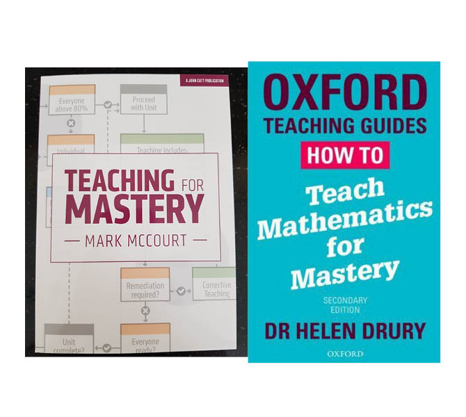 Exploring teaching for mastery in maths in literature